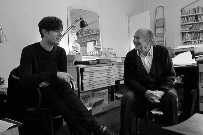 James Blake i Sir Quentin Blake